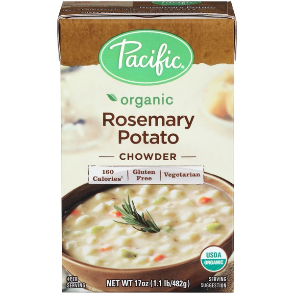 Pacific Organic Rosemary Potato Chowder Soup