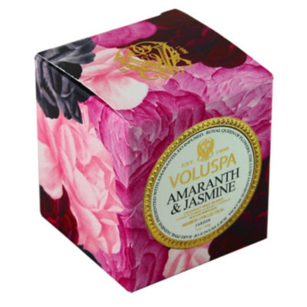 Voluspa Amaranth Jasmine Box Votive