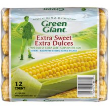 Green Giant Extra Sweet Corn-on-the-Cob Mini Ears, 12 count