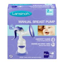 Lansinoh Manual Breast Pump, 1 Manual Breast Pump & Accessories
