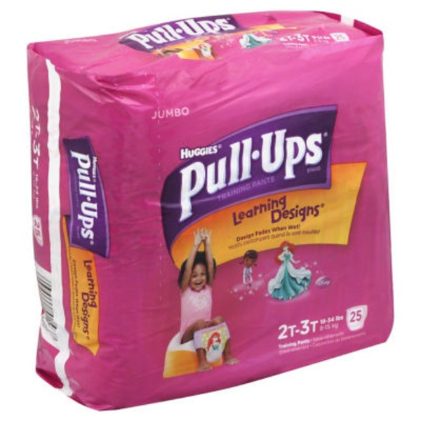 Pull Ups Training Pants Disney Learning Designs 2T-3T