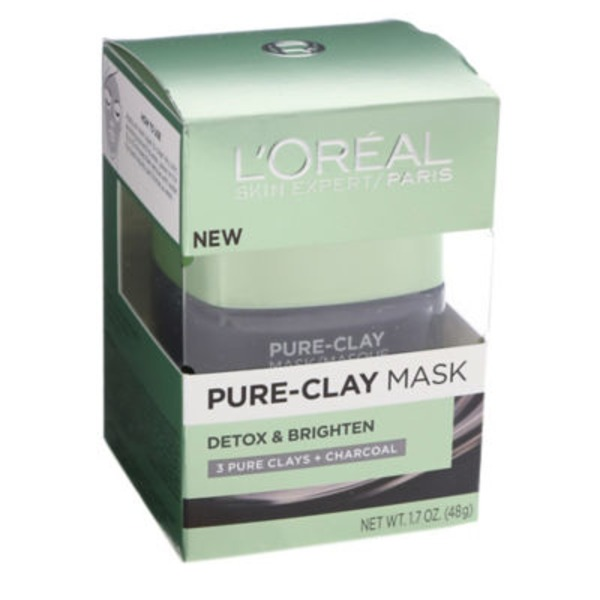 L'Oreal Paris Detox & Brighten Pure-Clay Mask
