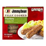 Jimmy Dean Fully Cooked Turkey Sausage Links - 12 CT
