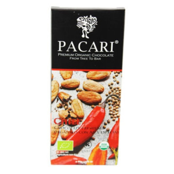 Pacari Chili Chocolate Bar