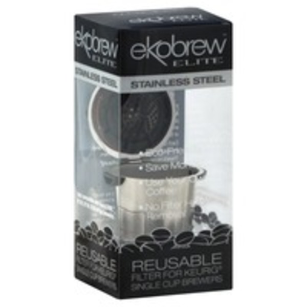 Ekobrew Elite Reusable Filter For Keurig Stainless Steel