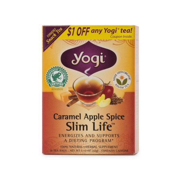 Yogi Caramel Apple Spice Slim Life Tea