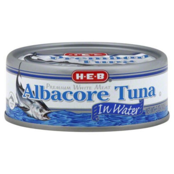 H-E-B Albacore Tuna In Water