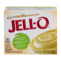 Jell-O Instant Pudding & Pie Filling Vanilla, 3.4 Oz