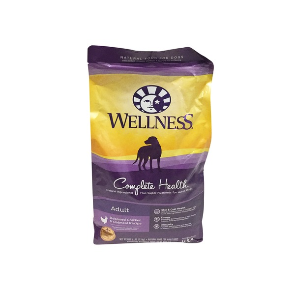 Wellness 5# Chunk Chicken Dog Food