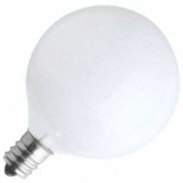 Sylvania Light Bulbs 40 W White Globe