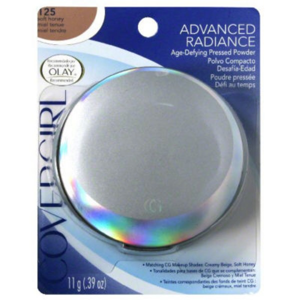CoverGirl Advanced Radiance COVERGIRL Advanced Radiance Age-Defying Pressed Powder, Soft Honey .39 oz (11 g) Female Cosmetics