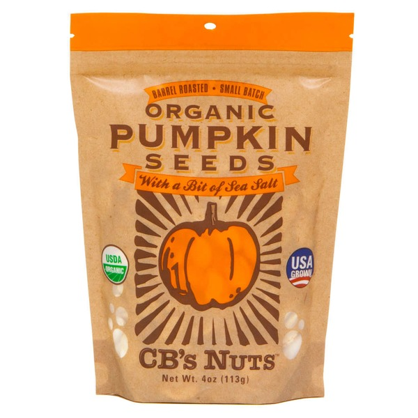 CB's Nuts Organic Pumpkin Seeds