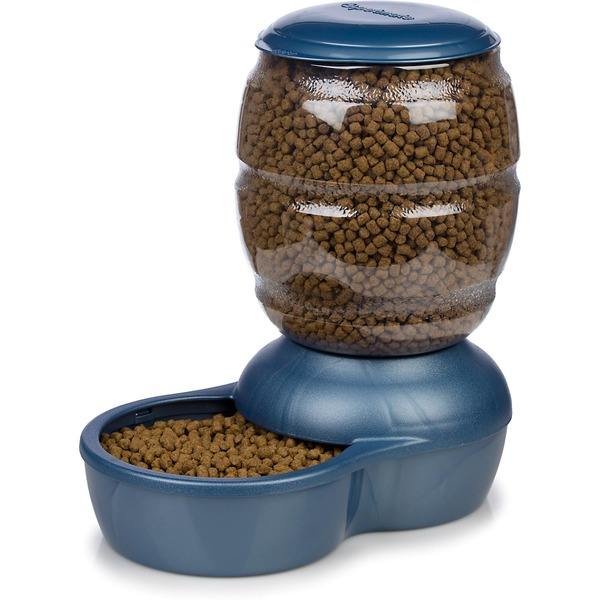 Petmate Replendish Small Feeder Blue