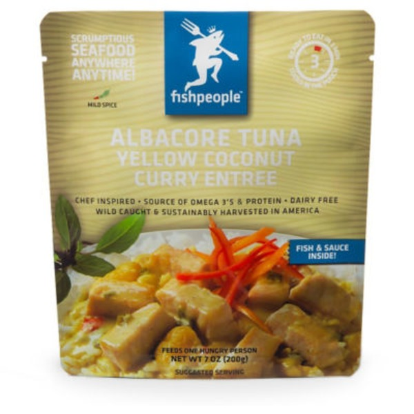 Fish People Albacore Tuna in Yellow Coconut Curry