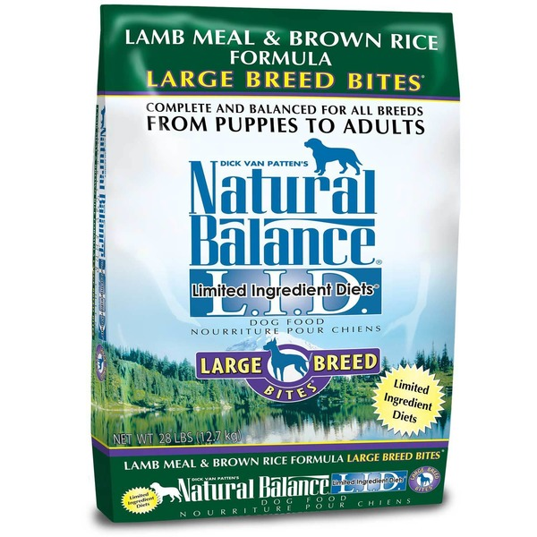 Natural Balance Limited Ingredient Diets Lamb Meal & Brown Rice Formula Large Breed Puppy