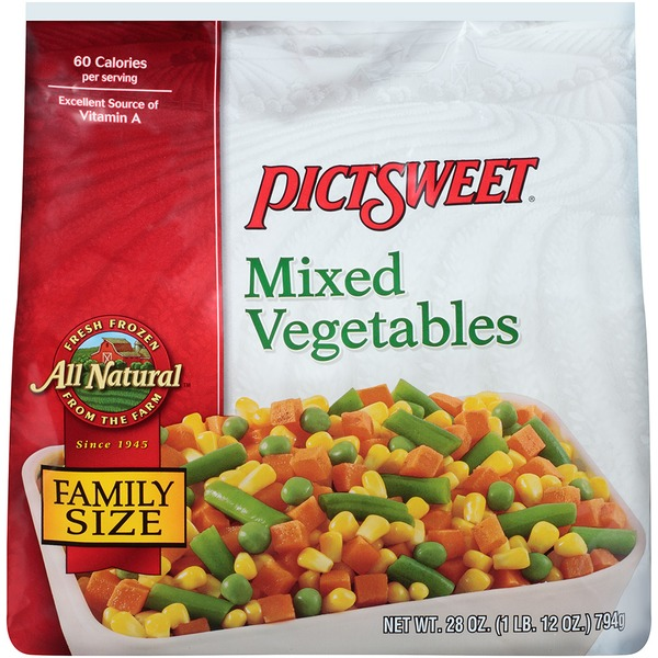 All Natural Alexia Mixed Vegetables