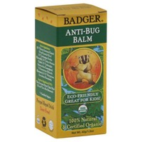 Badger Anti-Bug Balm, Certified Organic, Box