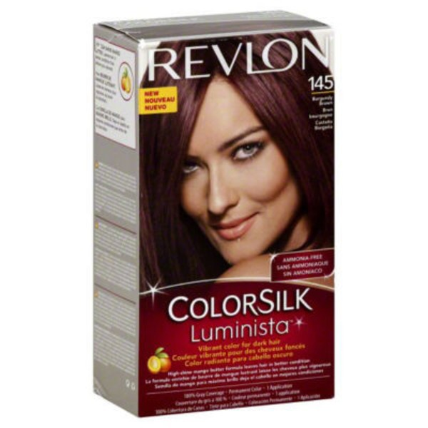 Revlon Colorsilk Luminista Burgundy Brown Hair Color