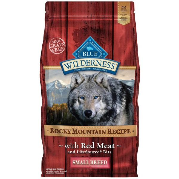 Blue Buffalo Dog Food, Dry, Life Source Bits, Rocky Mountain Recipe, Red Meat, Small Breed, Bag