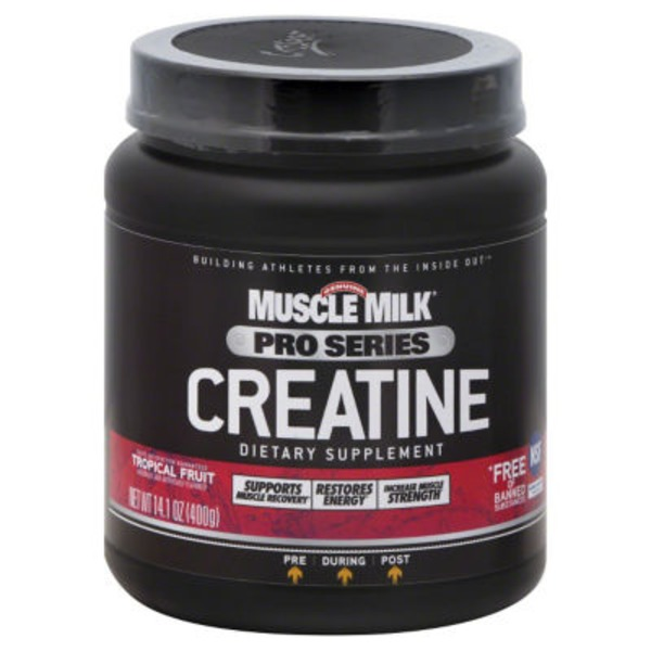 Muscle Milk Creatine Tropical Fruit Dietary Supplement