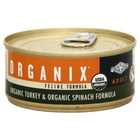 Castor & Pollux Organix Adult Cat Food Turkey & Spinach Recipe