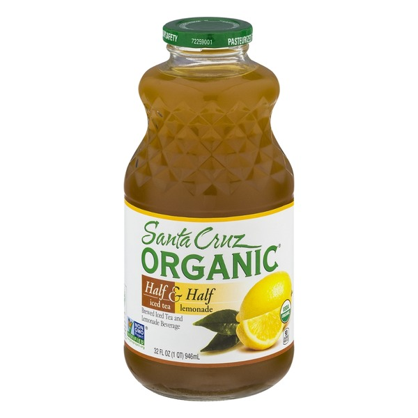 Santa Cruz Organics Half & Half Brewed Iced Tea and Lemonade Beverage