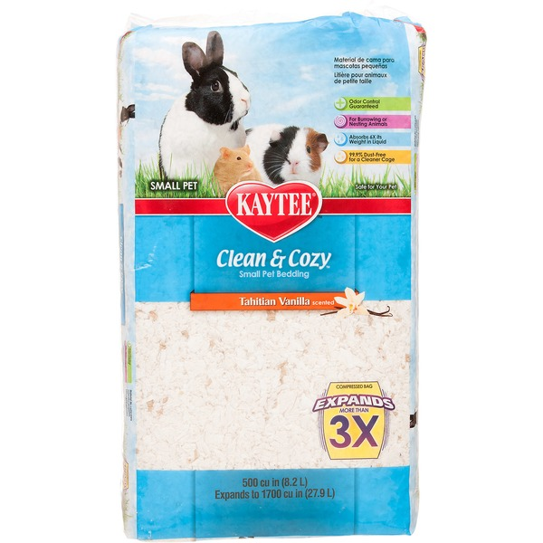Kaytee Clean & Cozy Small Pet Bedding Tahitian Vanilla Scented