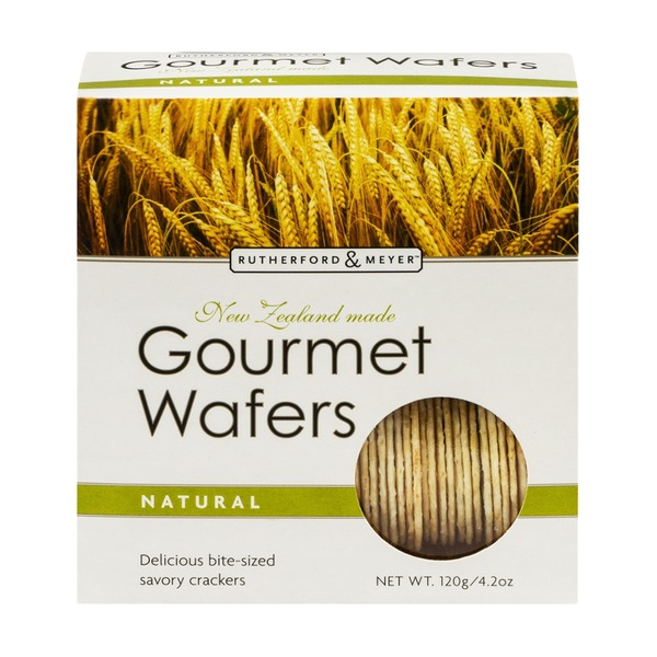 Rutherford & Meyer Gourmet Wafers Natural