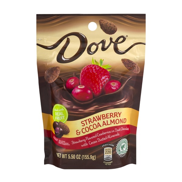 Dove Chocolate Dove Strawberry & Cocoa Almond Dark Chocolate