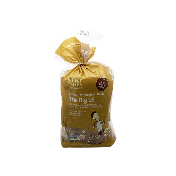 Silver Hills Bakery The Big 16 Grain Sprouted Whole Grain Bread