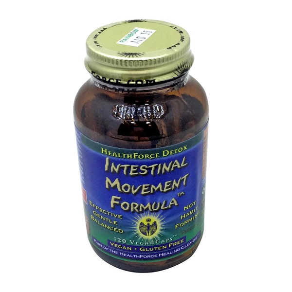HealthForce Nutritionals Intestinal Movement Formula 120 Vegancaps