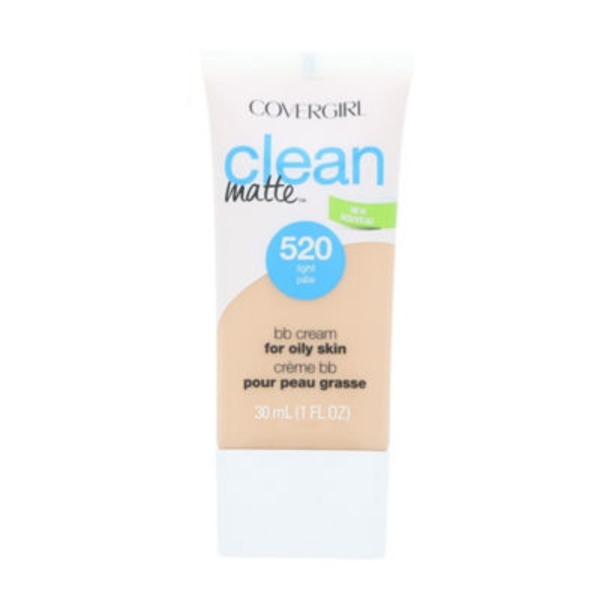 CoverGirl Clean Matte COVERGIRL Clean Matte BB Cream For Light Skin 1 fl. oz. Female Cosmetics