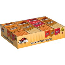 Austin Variety Pack Snack Crackers 8 - 1.38 oz. Packs