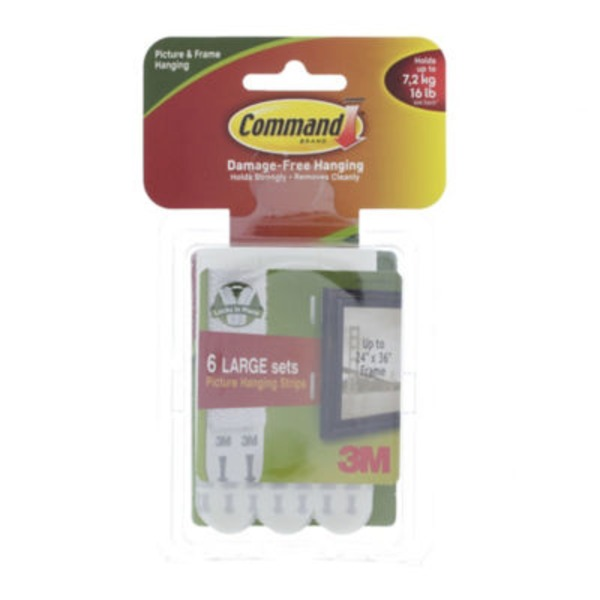 3M Command Large Picture Hanging Strips