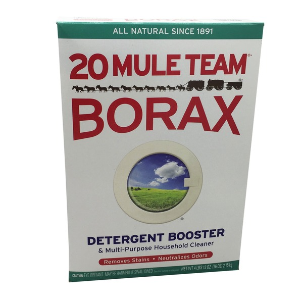 20 Mule Team Borax All Natural Detergent Booster & Multi-Purpose Household Cleaner