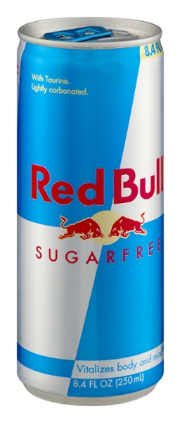 Red bull sugar free 8.4oz