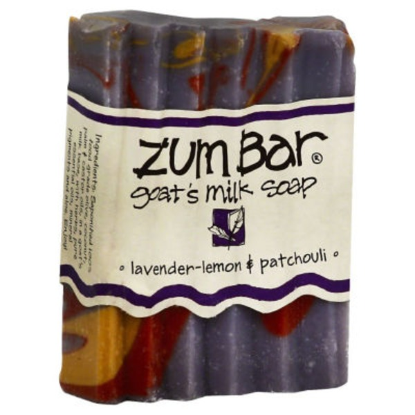 Zum Bar Goat's Milk Soap, Lavender-Lemon & Patchouli