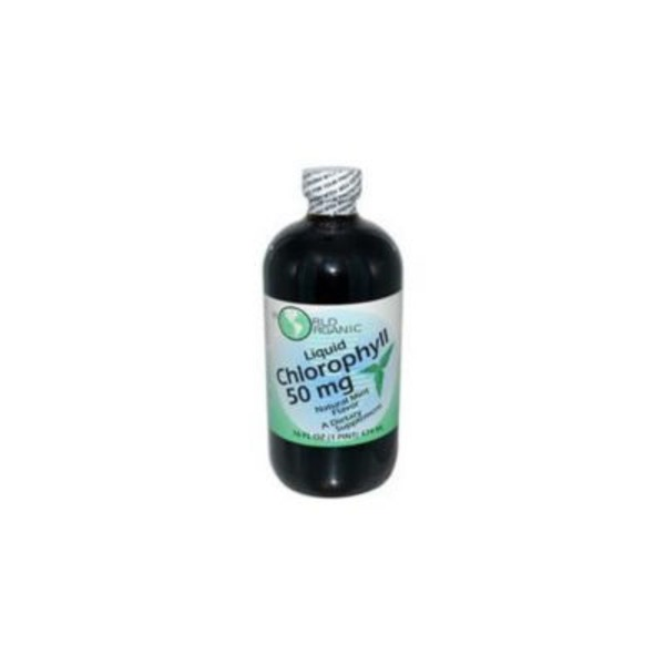 World Organic Mint Chlorophyl Liquid