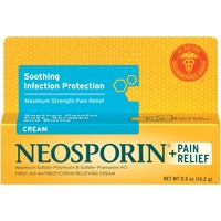 Neosporin® Neosporin + Pain Relief Cream First Aid Cream/Ointment