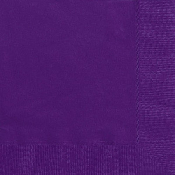 Unique Purple Lunch Napkins