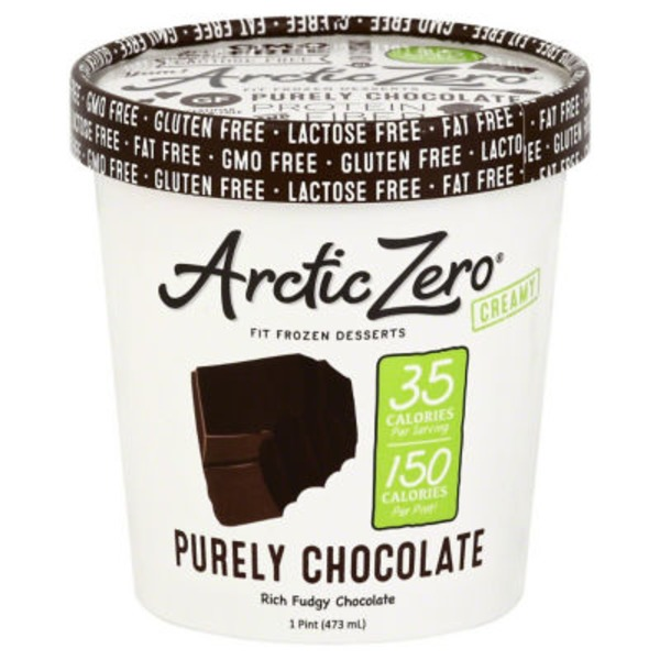 Arctic Zero Creamy Fit Frozen Desserts Purely Cookie