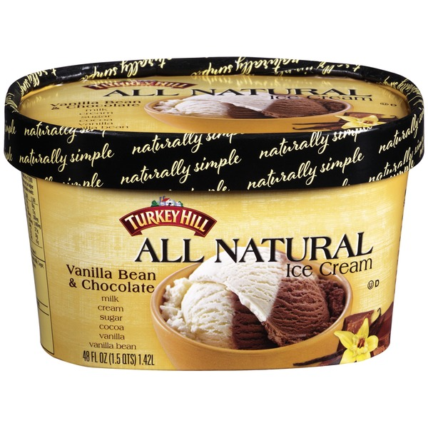 Turkey Hill All Natural Vanilla Bean & Chocolate Ice Cream