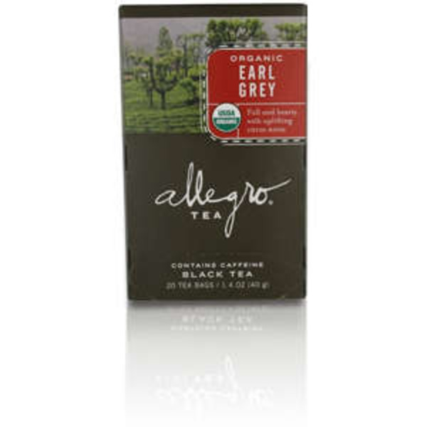 Allegro Organic Earl Grey Tea