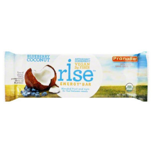 Rise Organic Blueberry Coconut Energy+ Bar
