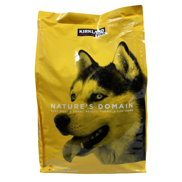 Nature's Domain Beef Meal & Sweet Potato Dog Food
