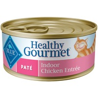 Blue Buffalo Food for Cats, Natural, Pate, Indoor, Chicken Entree