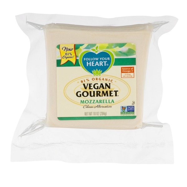 Follow Your Heart Vegan Gourmet Cheese Alternative Mozzarella