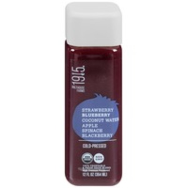 Bolthouse Farms 1915 Blueberry Cold Pressed  100% Vegetable & Fruit Juice Blend