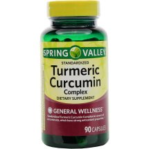 Spring Valley Turmeric Curcumin Complex Capsules, 500 mg, 90 Ct