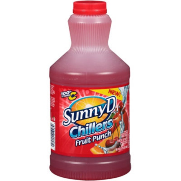 Sunny D Chillers Fruit Punch Citrus Punch